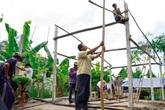 Đi hát để giúp người nghèo xây nhà kiên cố