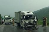 Quảng Ninh: Hai xe tải đấu đầu, 3 người bị thương nặng