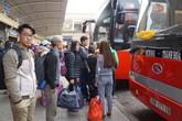 Hà Nội: Vé xe khách dịp Tết Dương lịch  không tăng giá