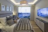 Căn penthouse 20 triệu bảng Anh nhìn ra sông Thames có gì?