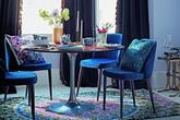 Biến tấu màu sắc giúp phòng ăn nhà bạn trở nên sang trọng và trang nhã