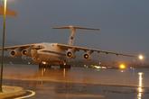 Máy bay vận tải quân sự Nga phục vụ APEC đáp xuống Đà Nẵng