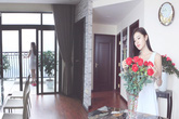 Bỏ biệt thự nhà vườn triệu đô, Á hậu Huyền My chuyển về sống ở chung cư cao cấp