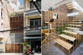 """Căn nhà Sài Gòn khiến người ta phải thốt lên vì quá đẹp dù mặt tiền """"đan lưới thép trắng"""" khác thường"""