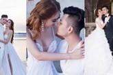 Ảnh cưới Lâm Khánh Chi e ấp, hạnh phúc trong vòng tay chồng trẻ