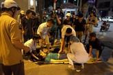 Lái xe cứu thương gây tai nạn đến công an trình diện