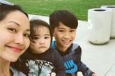 Cuộc sống chăm con, bán hàng online của Kim Hiền ở Mỹ