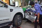 Thông tin mới nhất vụ xe Ford Ranger gây tai nạn liên hoàn ở Hà Nội