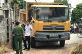 Một cháu bé 18 tháng tuổi ở Hải Dương bị xe tải cán tử vong