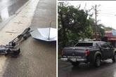 Khởi tố vụ lái xe tông nhóm phóng viên VTV, đâm nát máy quay hơn 1 tỷ đồng