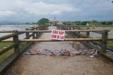 Xác định nguyên nhân tàu cát đâm sập cầu Sông Hoàng