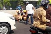 Hà Nội: Bắt 3 thanh niên tông xe trúng một CSGT