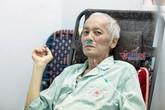 Diễn viên Duy Thanh gầy sọp, kiệt quệ vì ung thư giai đoạn cuối