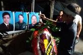 Xót xa lễ tang giữa đêm khuya của 3 anh em ruột tử vong ở Hải Dương