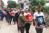 Xóm làng, người thân khóc nghẹn tiễn đưa 3 anh em ruột tử vong ở Hải Dương