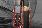 Điện thoại 'cục gạch' đính 439 viên hồng ngọc, giá 360.000 USD