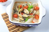 Giảm cân từ hải sản với nguyên liệu là nghêu