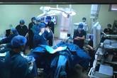 Bệnh nhân ung thư đại tràng đầu tiên được phẫu thuật bằng phương pháp mới