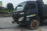 Hải Dương: Xe tải mất lái đâm công nhân làm đường tử vong