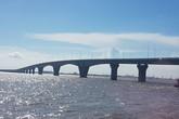 Thông cầu vượt biển dài nhất Việt Nam đúng ngày Tết Độc lập
