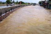 Thanh Hóa: Nước ngập khiến Quốc lộ 1A  bị chia cắt