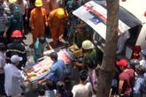 Đà Nẵng: Đang lắp biển quảng cáo, 3 công nhân bị điện giật bỏng nặng
