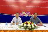 """Trao chứng chỉ khóa học """"Kỹ năng ảnh báo chí nâng cao"""" cho 46 nhà báo Lào"""