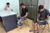 """Hà Nội: Phá băng nhóm cướp chuyên dùng """"hàng nóng"""""""