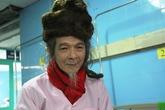 Cụ ông 76 tuổi với mái tóc đặc biệt hơn 30 năm chưa cắt