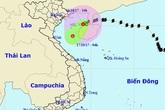 Tin mới về áp thấp nhiệt đới, không khí lạnh tăng cường