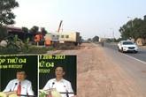 UBND tỉnh Bắc Giang chỉ đạo làm rõ hành vi phá rào Quốc lộ 1 ở huyện Lạng Giang