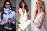 Nhan sắc 3 người phụ nữ xinh đẹp vây quanh Tổng thống Donald Trump