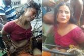 Nghi bắt cóc trẻ con, người phụ nữ tâm thần bị đám đông lột quần áo, ném đá tới chết