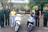 Mất xe máy ở Hà Nội, được tìm thấy ở Quảng Ninh