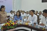 Bộ trưởng Bộ Y tế kiểm tra công tác y tế phục vụ hội nghị APEC tại Đà Nẵng
