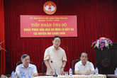 Bộ trưởng Bộ TN&MT vào tâm lũ chỉ đạo khắc phục hậu quả