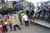 Bão số 10: Hai tàu bị chìm, Quảng Ninh cấm cầu Bãi Cháy