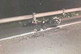 Đâm vào xe lu, 2 thanh niên chết thảm