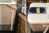 Máy giặt xách tay - giải pháp cho căn hộ nhỏ