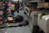 Hải Dương: Đi dạy học về, nữ giáo viên bị xe container cán tử vong