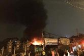 Hà Nội: Cháy lớn tại gara ô tô trên đường Ngô Quyền, Hà Đông