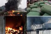 Công bố thiệt hại ban đầu vụ cháy lớn tại chợ Tân Thanh