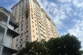 Hà Nội: Căn hộ chung cư bốc cháy dữ dội trong đêm, người dân hoảng loạn