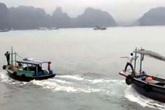 Điều tra vụ 2 tàu đuổi nhau như phim hành động trên Vịnh Hạ Long