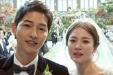 """Những điểm đặc biệt và... gây cười ở đám cưới cặp Song - Song """"Hậu duệ mặt trời"""""""