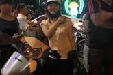 Cô gái Hải Phòng xinh đẹp lao xe đâm ngã tên cướp giữa đường