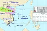 Tối nay, bão số 2 gió mạnh cấp 9 đi vào ven biển miền Trung