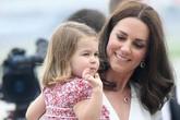 Con gái hoàng tử William sắp đi nhà trẻ