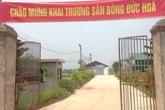 Xã Đức Hòa (huyện Sóc Sơn, Hà Nội):  Hàng ngàn mét vuông đất công bị sử dụng sai mục đích