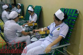 Xuyên Việt vận động  hiến máu cứu người